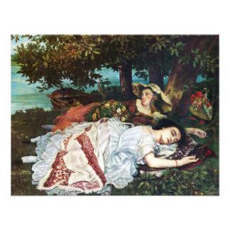 Señoras jovenes de Courbet en los bancos del Sena Anuncios
