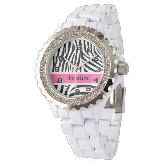Señoras personalizadas diseñador moderno de la reloj de mano