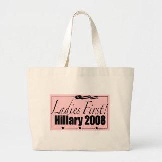 ¡Señoras primero! Bolso de Hillary 2008 Bolsas