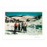 Señoras SkiingWashington del parque de estado del Tarjeta Postal