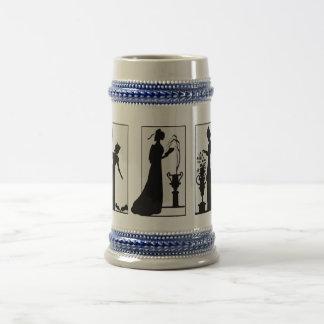 Señoras Stein del Victorian del arte de la sombra Jarra De Cerveza