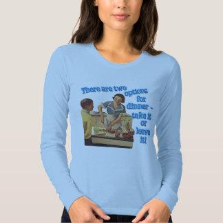 Señoras T coloreado manga larga de las opciones de Camisas