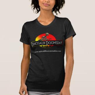 Señoras T del día del juicio final del dinosaurio Camisetas