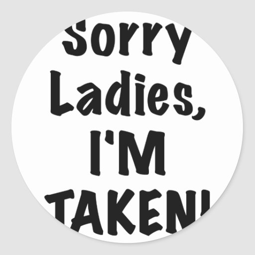 Señoras tristes Im tomado Etiquetas Redondas