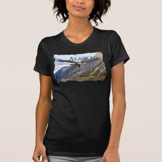 Señoras Twofer de Alaska escarpado (cabido) Camisetas