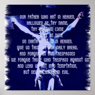 Señores Prayer Poster