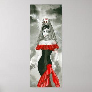 senorita death poster