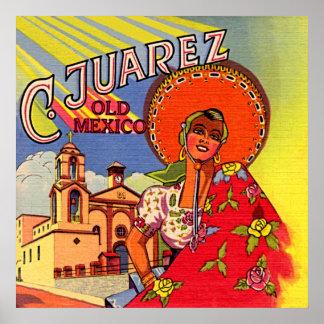 Senorita español de Cuidad Juarez Poster