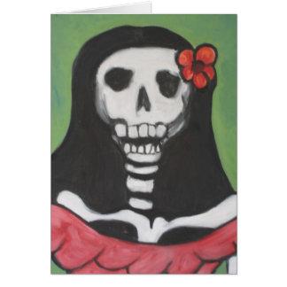 Senorita Greeting Card