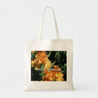 Senorita precioso Iris Bolsas Lienzo