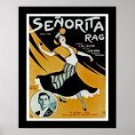 Senorita Rag Posters