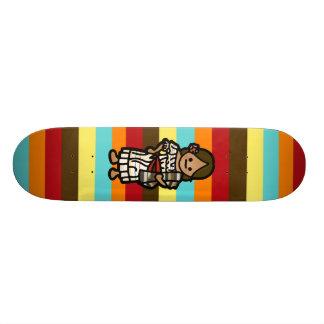 senorita skateboard. skateboard deck