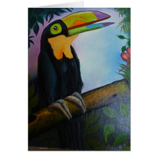 Senorita Toucani Card