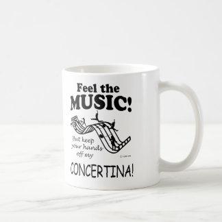Sensación acordeón la música taza clásica