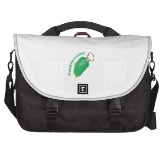 Sensación afortunado bolsas para portátil