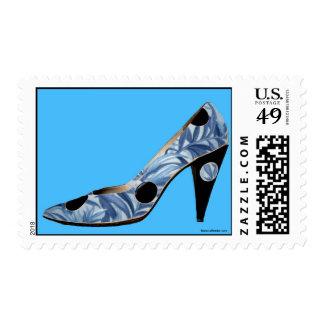 Sensación azul sellos postales