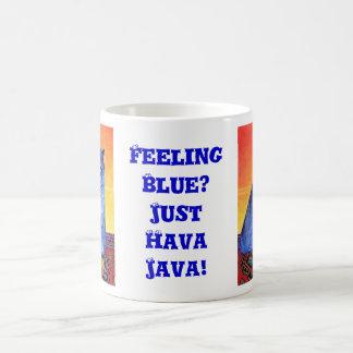 Sensación azul taza clásica