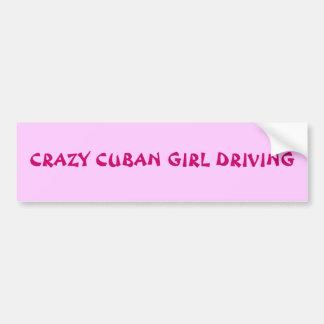 SENSACIÓN CUBANA PEGATINA PARA AUTO