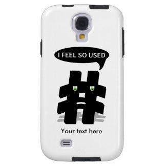 Sensación de Hashtag I usada tan Funda Para Galaxy S4