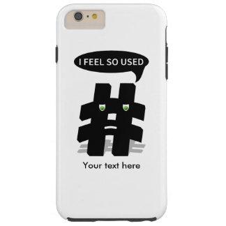 Sensación de Hashtag I usada tan Funda Para iPhone 6 Plus Tough