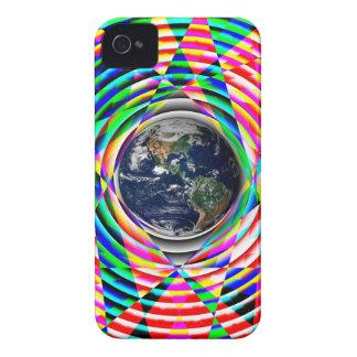 Sensación de la tierra de Kenneth Yoncich Case-Mate iPhone 4 Coberturas