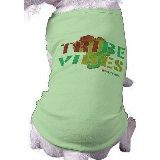 Sensación de la tribu playera sin mangas para perro