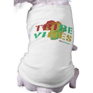 Sensación de la tribu camiseta de perro