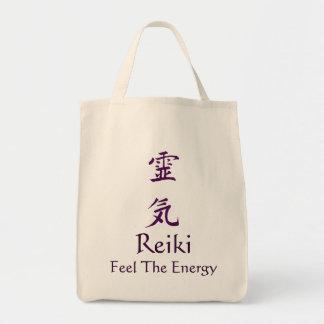 Sensación de Reiki la bolsa de asas de la energía