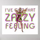 Sensación de Zazzy de la CAMISETA Impresiones