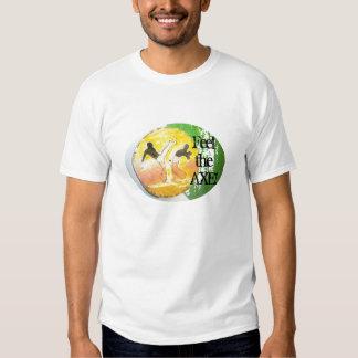 Sensación del capoeira de la camisa el HACHA