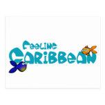 Sensación del Caribe Tarjetas Postales