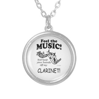 Sensación del Clarinet la música Collar Personalizado