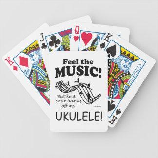 Sensación del Ukulele la música Baraja