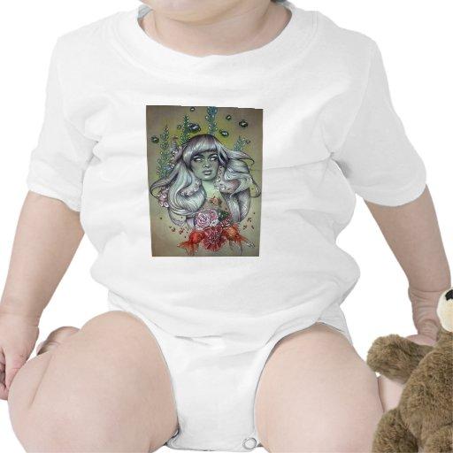Sensación eléctrica trajes de bebé