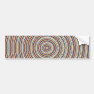 Sensación equilibrada de la energía - exhiba cerca etiqueta de parachoque