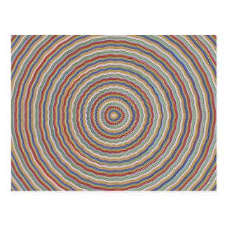Sensación equilibrada de la energía - exhiba cerca tarjetas postales