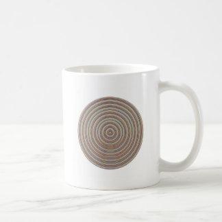 Sensación equilibrada de la energía - exhiba cerca taza de café