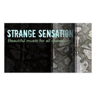 """""""Sensación extraña"""" (estoy sintiendo a) Tarjetas De Visita"""