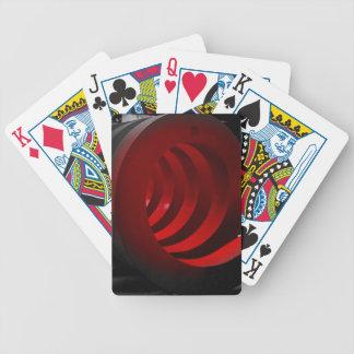 Sensación profunda baraja cartas de poker