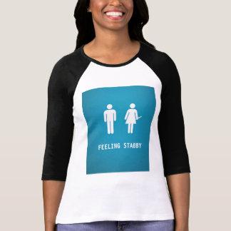 Sensación stabby camisetas