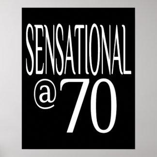 Sensacional en setenta años póster