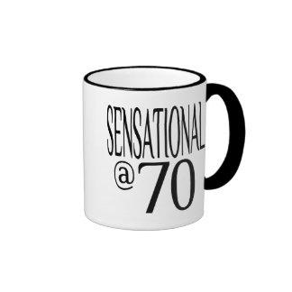 Sensacional en setenta tazas de café