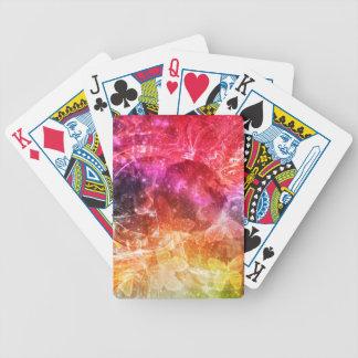 Sensaciones caóticas baraja de cartas