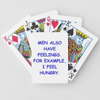 sensaciones cartas de juego
