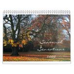 Sensaciones estacionales 2009 calendario