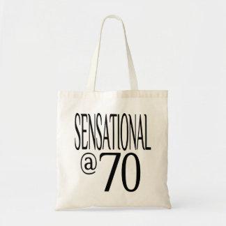 Sensational at Seventy Tote Bag