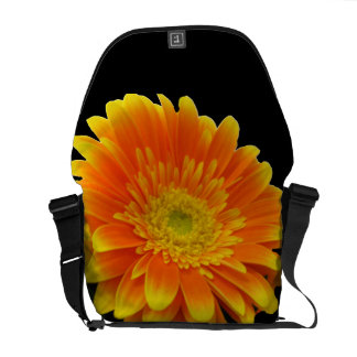 Sensational Gerbera Messenger Bag