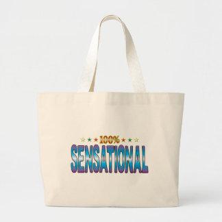 Sensational Star Tag v2 Canvas Bag