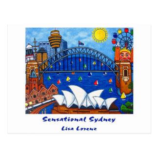 Sensational Sydney Post Card