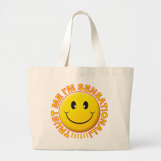 Sensational Trust Me Smile Tote Bags
